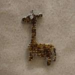 BEADED GIRAFFE MAGNET