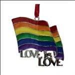 RAINBOW FLAG LOVE IS LOVE