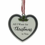 HEART..ALL I WANT FOR CHRISTMA