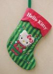 HELLO KITTY GREEN STOCKING
