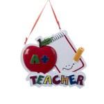 A+TEACHER ORNAMENT