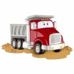 CARTOON DUMPTRUCK