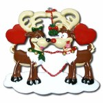 REINDEER COUPLES ORNAMENT