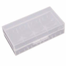 Battery Cases 18650 Clear