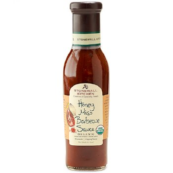 Organic Honey Miso BBQ Sauce