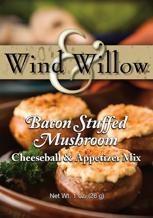 Cheeseball Mix Bacon Stuffed Mushroom