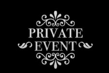 Friday, June 8 Private Party