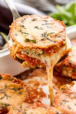 Jan 30 Chicken + Eggplant Parmesan w/ Spinach Fettuccini