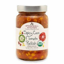 Organic Spicy Corn & Tomato Relish