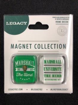 Square Magnet 2 Pack