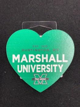 Wood Heart Magnet