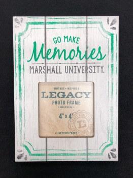 "Memories Marshall University 4"" x 4"" Picture Frame"