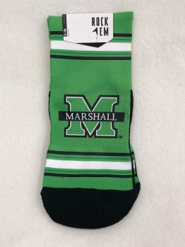 Quarter M/Marshall Sock- S/M