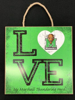 Love Square Plaque