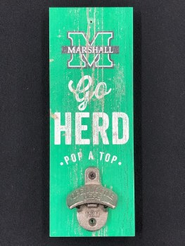 Go Herd! Wall Mount Bottle Opener