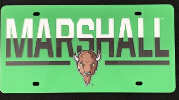 Marshall Split License Plate