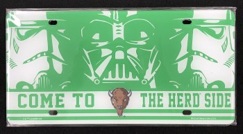Come to The Herd Side License Plate