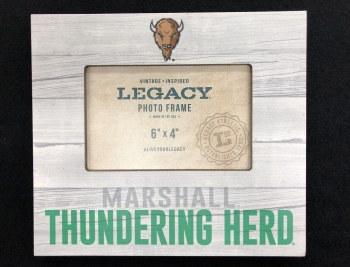 "Thundering Herd 4"" x 6"" Picture Frame"