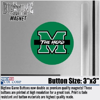 Button Magnet M/The Herd