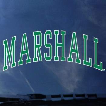 Arched Marshall Decal