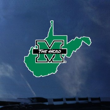 State Shape M/The Herd Decal