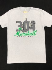 304 Basketball Tee White- S