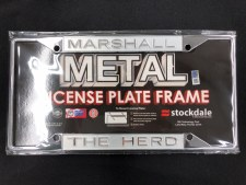 Marshall Frosted License Frame