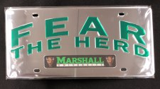 Fear The Herd License Plate