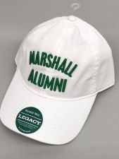 Marshall Alumni Hat- White