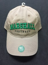 Marshall Football Hat- Driftwood
