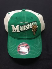 Marshall Trucker Hat- Kelly/Tan