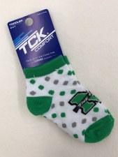 Polka Dot Toddler Sock