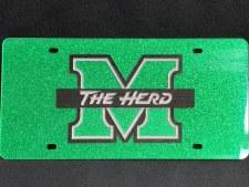 Glitter M/The Herd License Plate