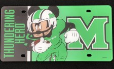 Mickey Football License Plate