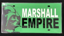 Marshall Empire License Plate