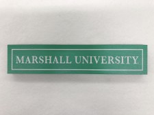 "Marshall University 12"" Wood Table Block"