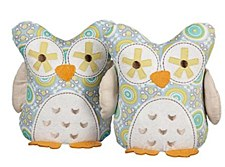 ANIMAL TREE BOOKENDS - GIO OWLS