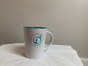 ISC Mug White and Teal