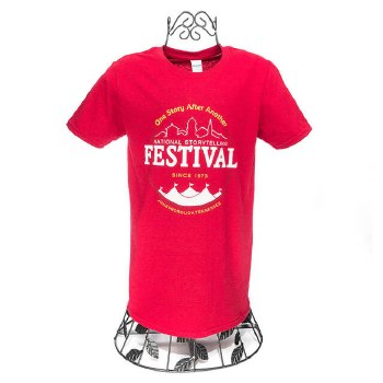 One Story SS Tee Red S