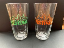 NSF Beer Glass Green