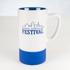 NSF Mug White and Royal Blue