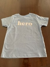 Children's Hero Tee Size 4