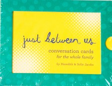 Just Between Us Conversation Cards