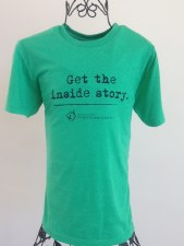 Get the Inside Story SS Tee Green