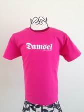 Youth Damsel Pink Tee M