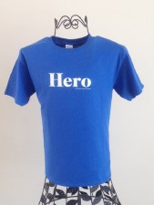 Youth Hero Blue Tee XS