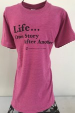 Short Sleeve Life Tee in Pink S