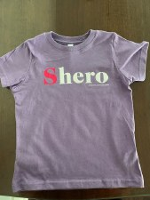 Children's Shero Tee Size 4
