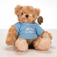 Story Teddy In Blue