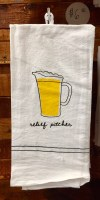 Relief Pitcher Bar Towel